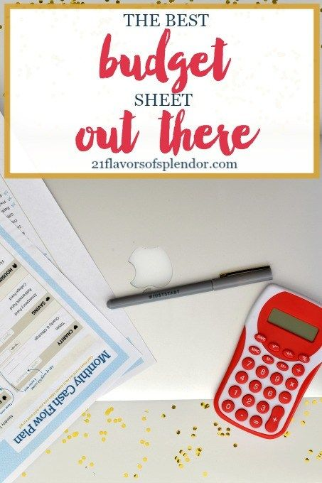 Why FPU Has The Best Budget Sheet Out There Budget sheets