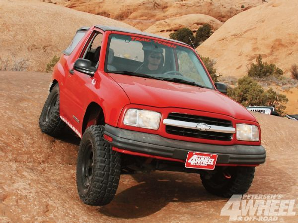 1999 Chevy Tracker Two Day Build 4 Wheel Off Road Magazine Chevy Tracker Grand Vitara