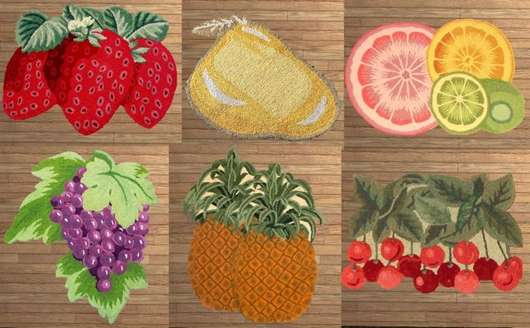 Great 12 Excellent Kitchen Rugs Fruit Design Ideas Kitchen Rugs