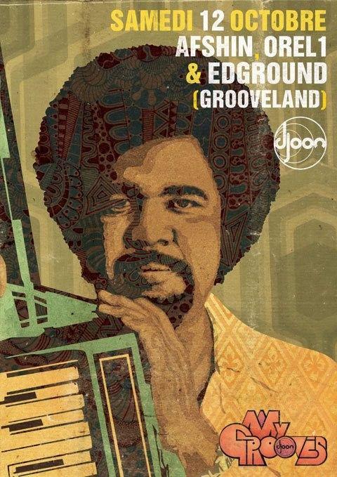 My Grooves   Djoon   Paris   https://beatguide.me/paris/event/djoon-my-grooves-20131012/poster/
