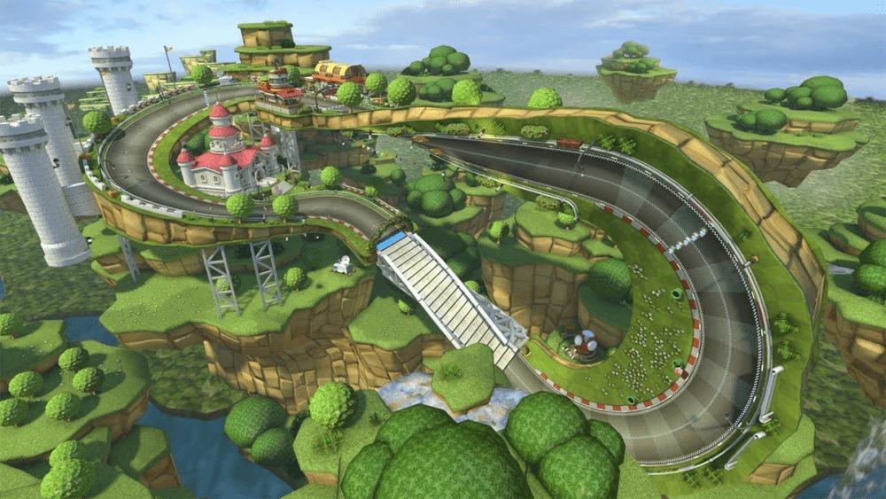 Pin By Courtney On Lamo Theme Park Rainbow Road Mario Kart Mario Kart Mario