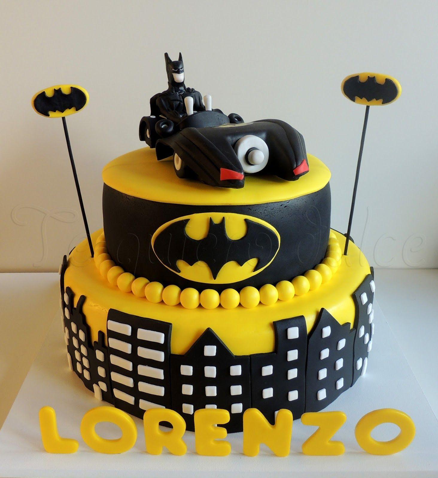 Resultado de imagen para tortas de batman pasteles para - Bizcocho cumpleanos para ninos ...