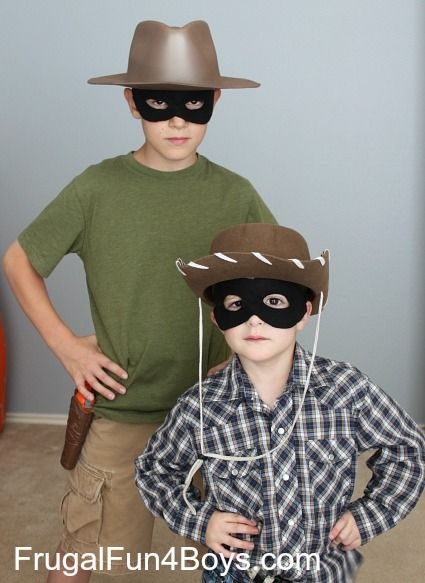 "Make Your Own ""The Lone Ranger"" Face Mask (with a free ..."
