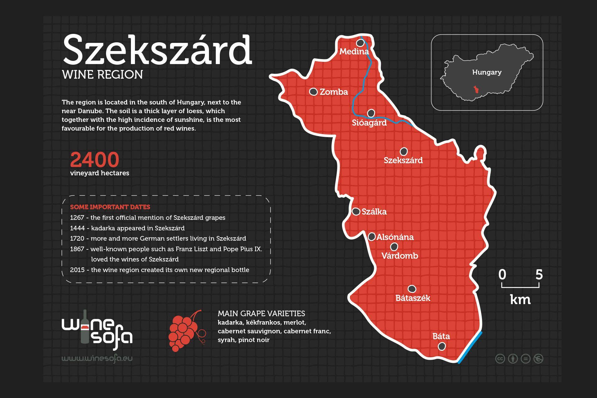 Szekszard Wine Region Infoposter River Cruises In Europe Wine Region European River Cruises