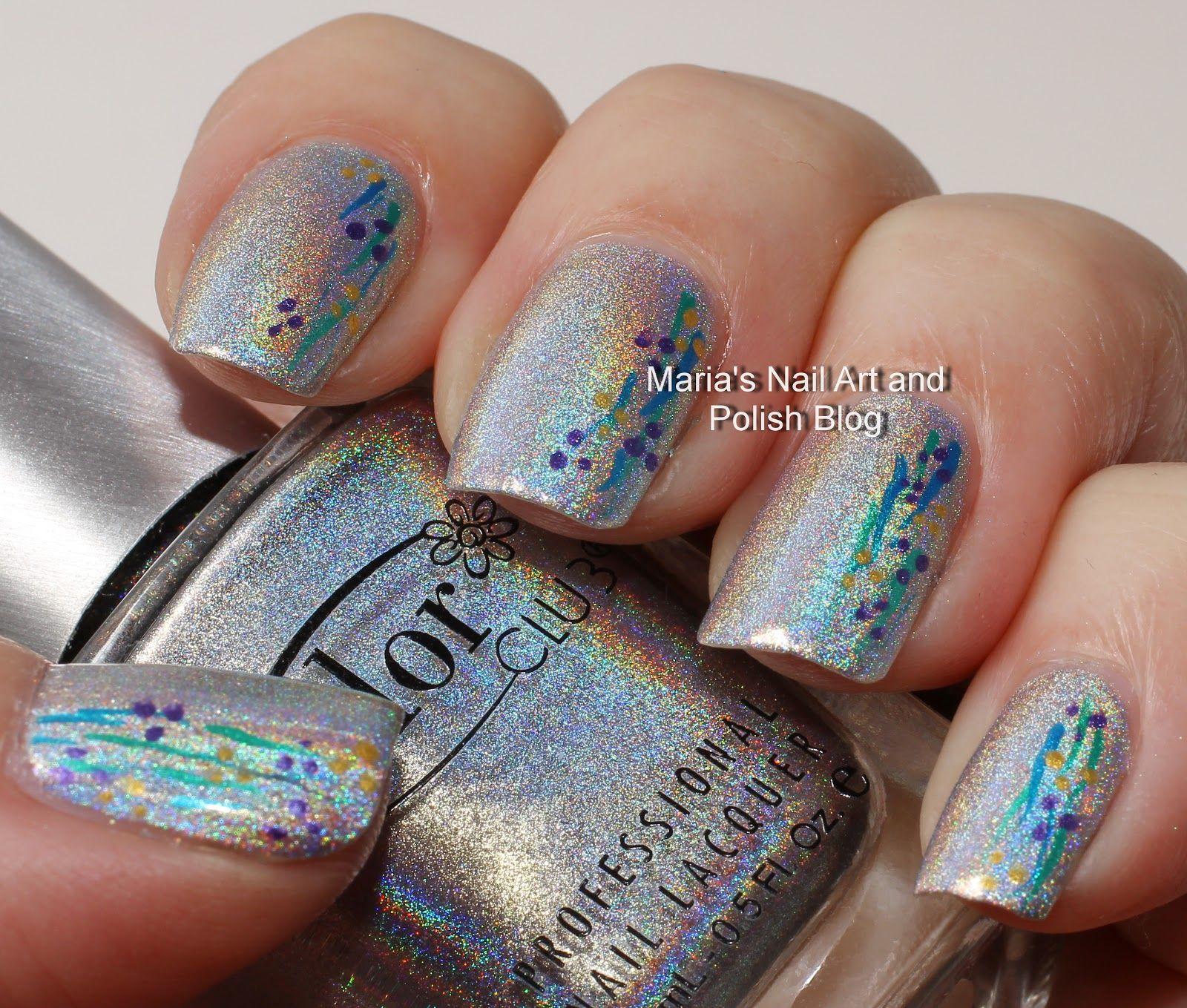 Marias Nail Art And Polish Blog Super Quick Nail Art Beauty