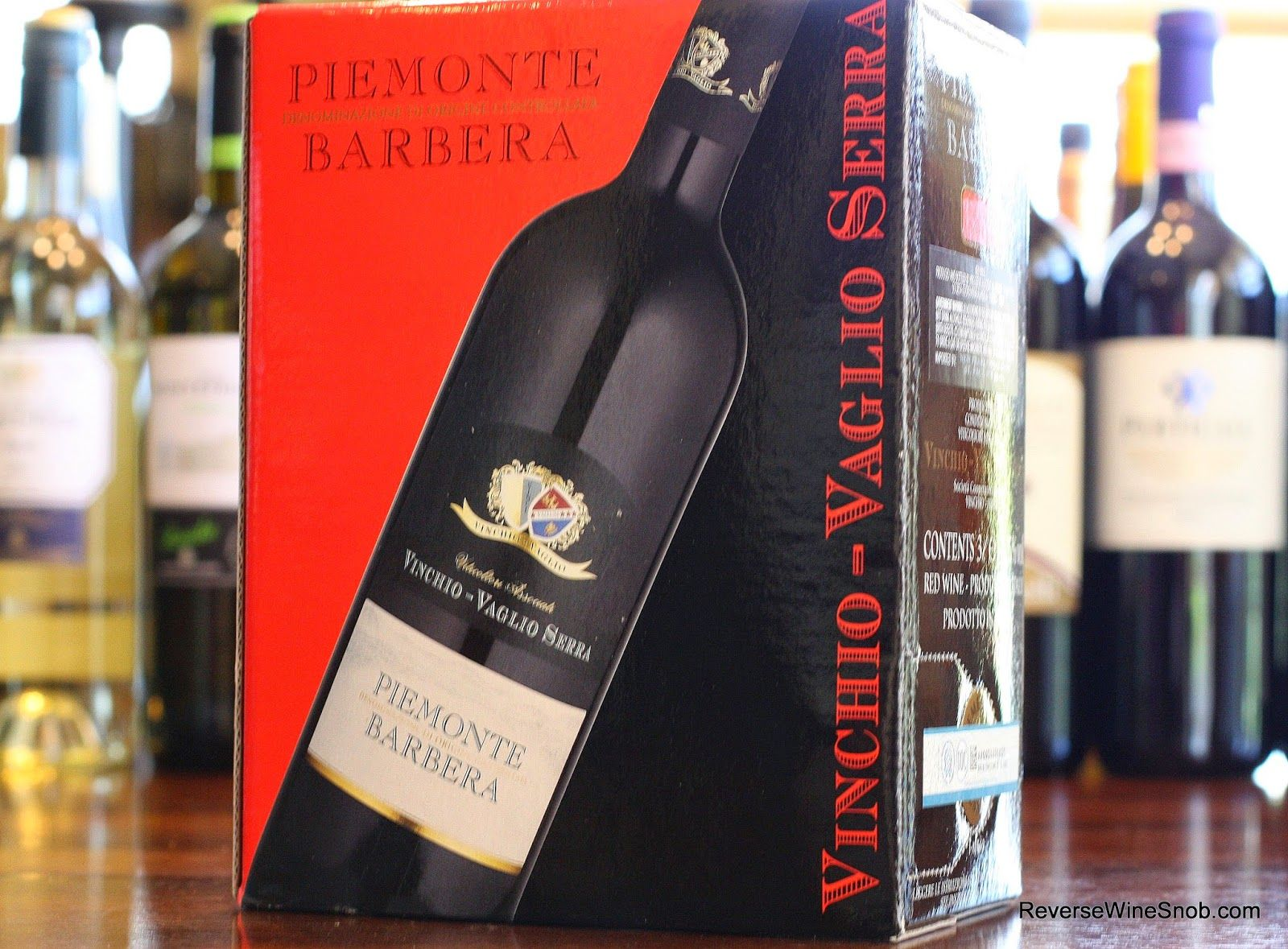 The Reverse Wine Snob The Best Box Wines Vinchio Vaglio Serra Piemonte Barbera 2012 A True Bulk Buy As Low As 16 For A 3l Box Ht Wine Snob Wine Wine Box