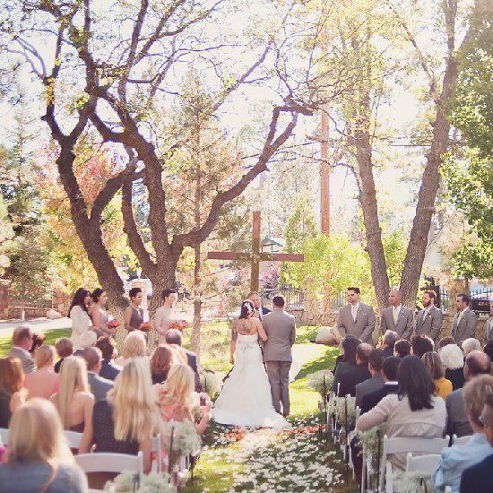 A Magical Big Bear Wedding at Whispering Pines Estate. (Photo ...
