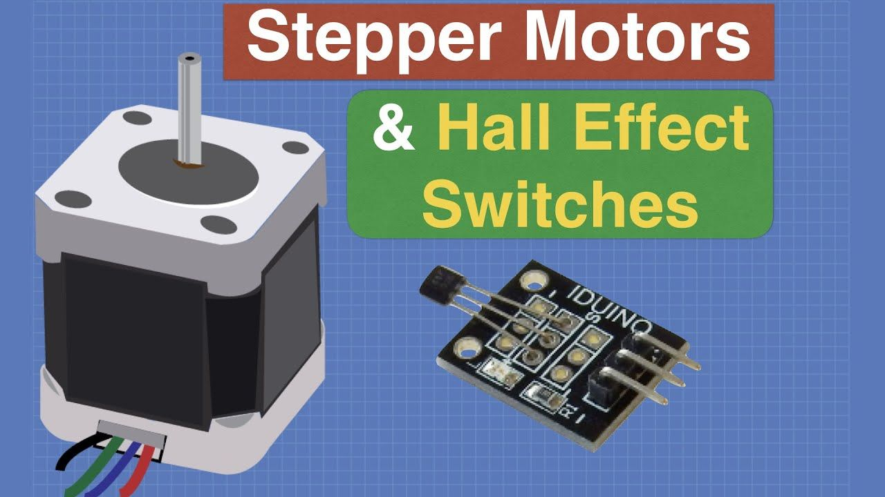 Control A Stepper Motor With Hall Effect Switches Youtube With