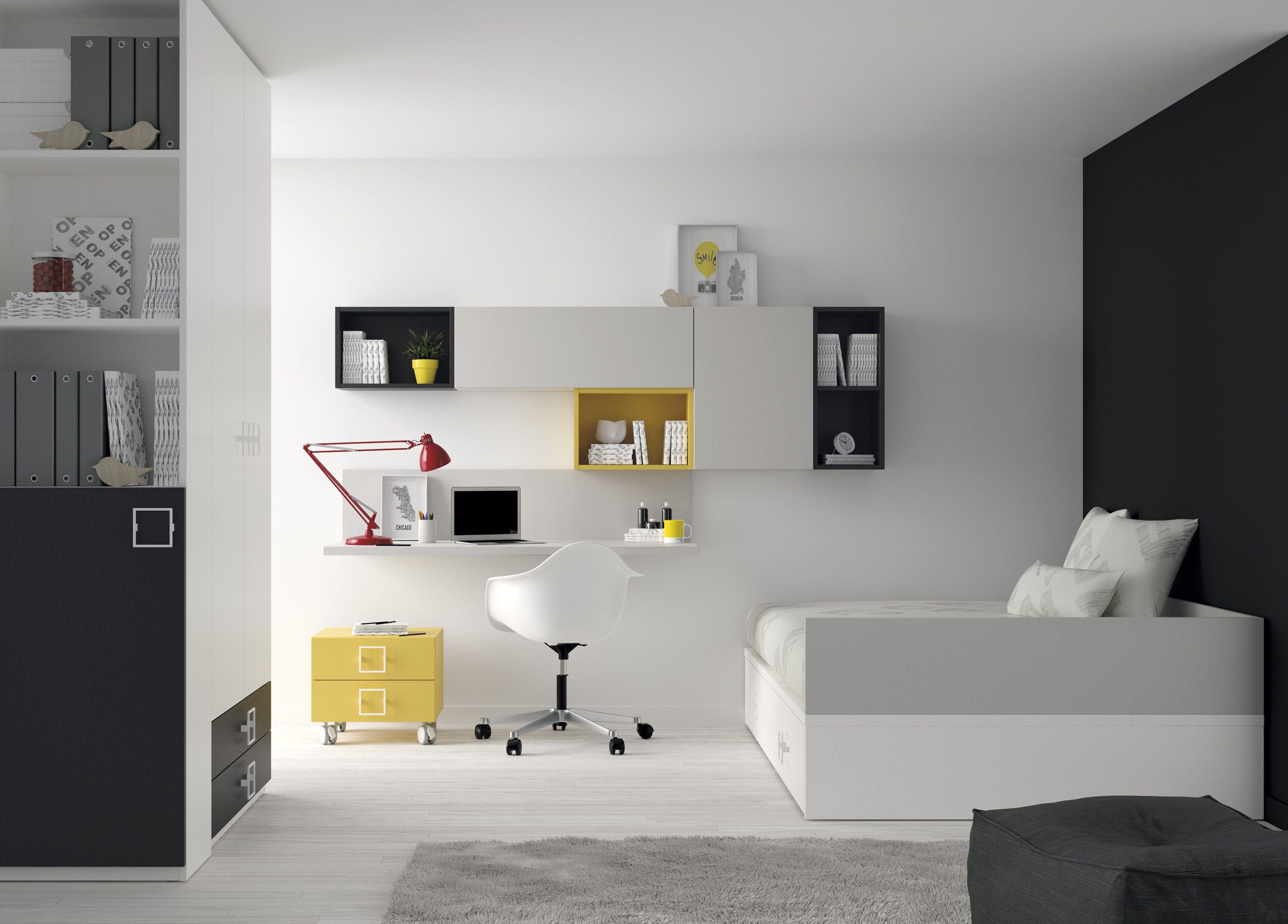 Una Gran Selecci N De Ideas Y Soluciones Para Organizar Tu  ~ Estanterias Dormitorios Juveniles