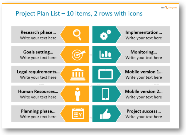 Get Rid Of Bullet Points Three Creative List Presentation Ideas Blog Creative Presentations Ideas Creative Presentation Ideas Powerpoint Slide Designs Powerpoint Design