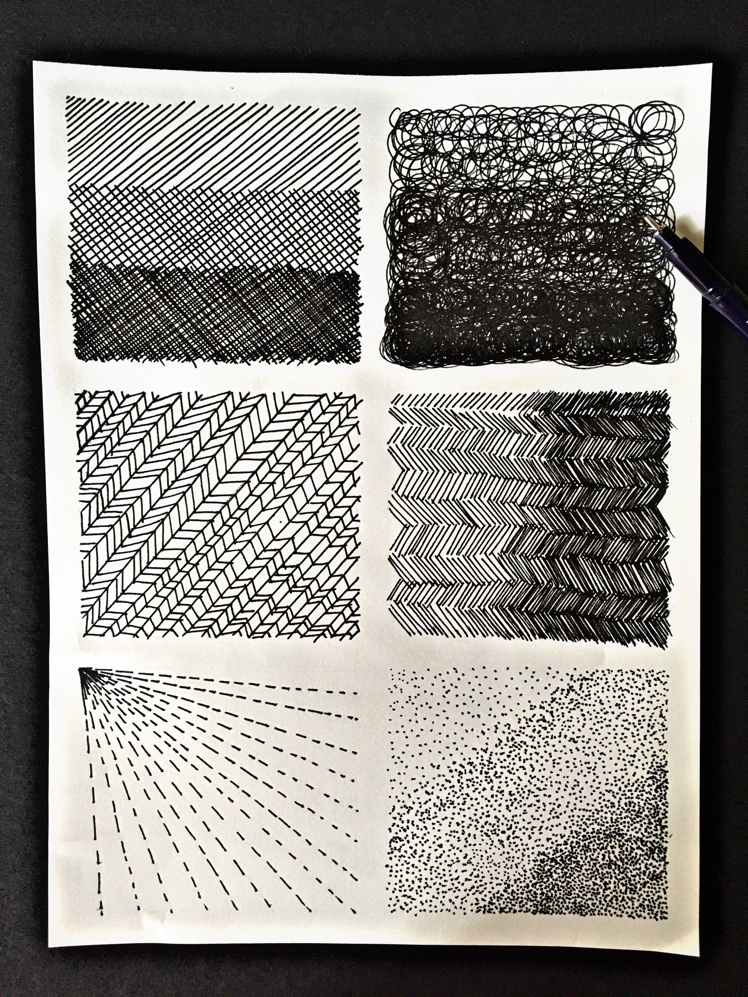Achurado Tiralineas Achurado Dibujos Simples Texturas