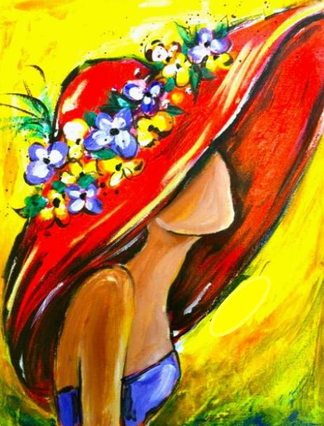 acryl schilderen voorbeelden