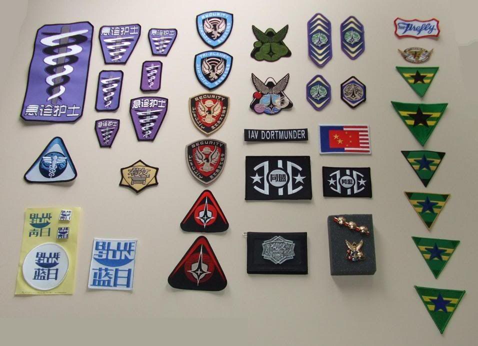 Brown Coats Shield Pin Badge Firefly Serenity