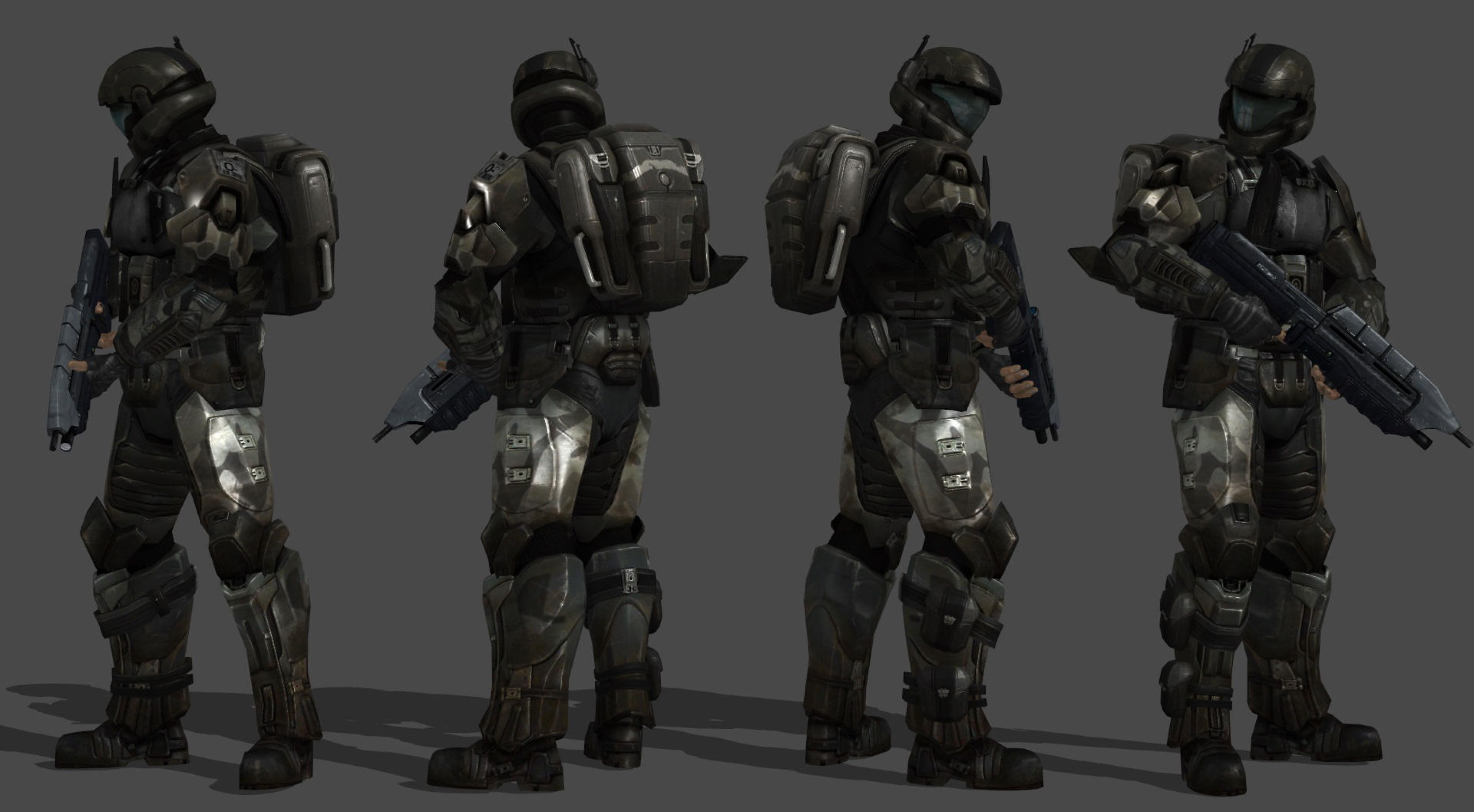 WIP - Halo ODST: Buck 3D model by ShaunsArtHouse on @DeviantArt