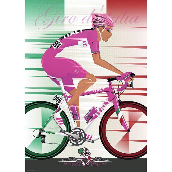 Giro D'Italia 2016 Art Print