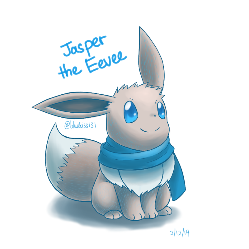 Request: Jasper the Eevee by Bluekiss131.deviantart.com on @DeviantArt