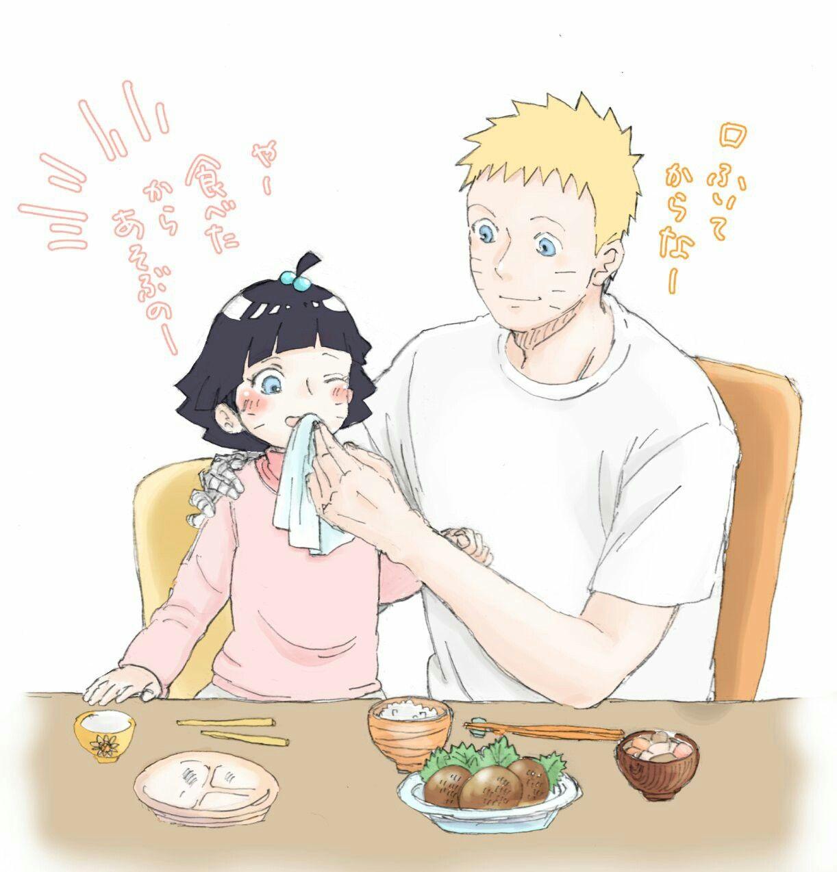 Cre asyuup (Twitter) Familia uzumaki, Naruto, Naruhina