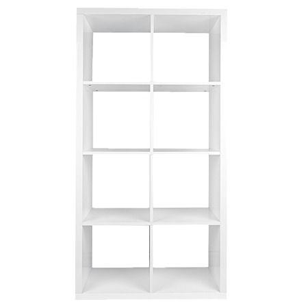 Solano Modena 8 Cube Storage Gloss White