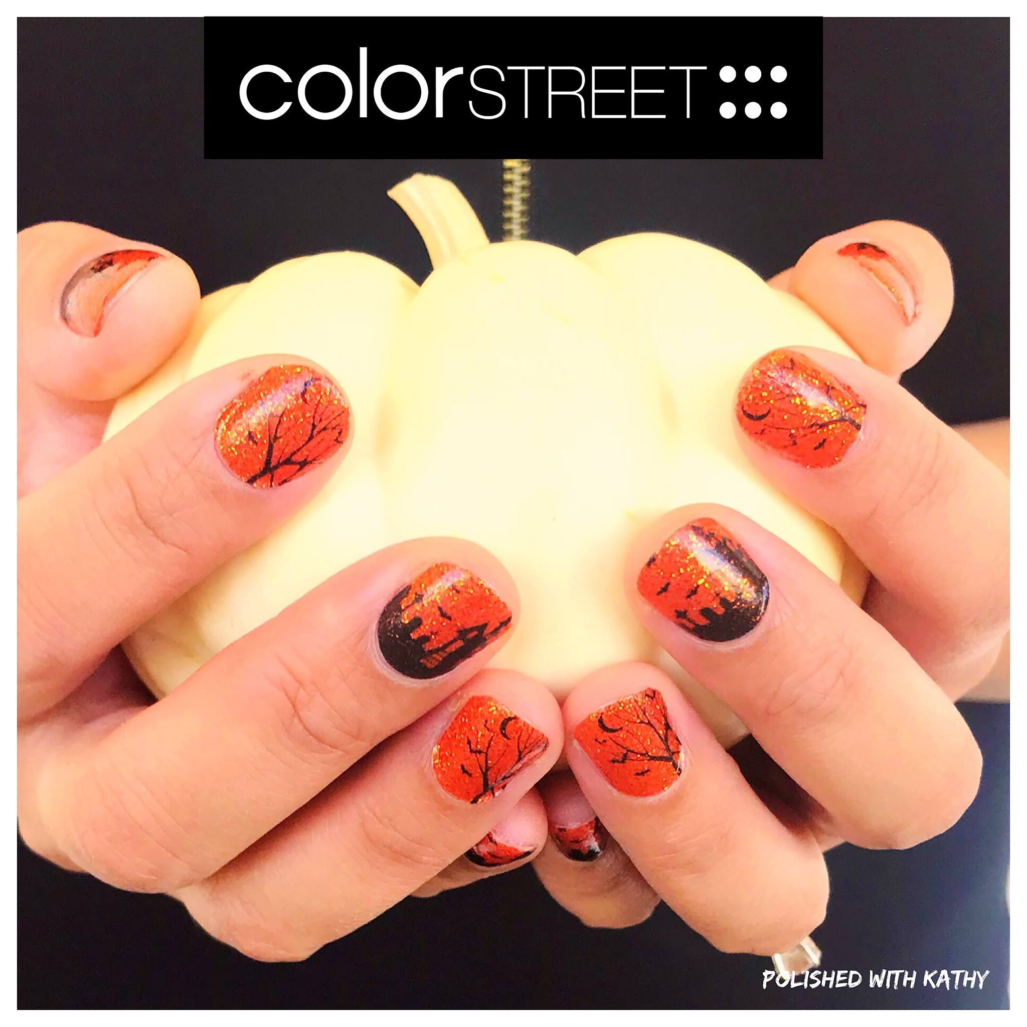 Color Street nails from the 2017 Halloween collection ...