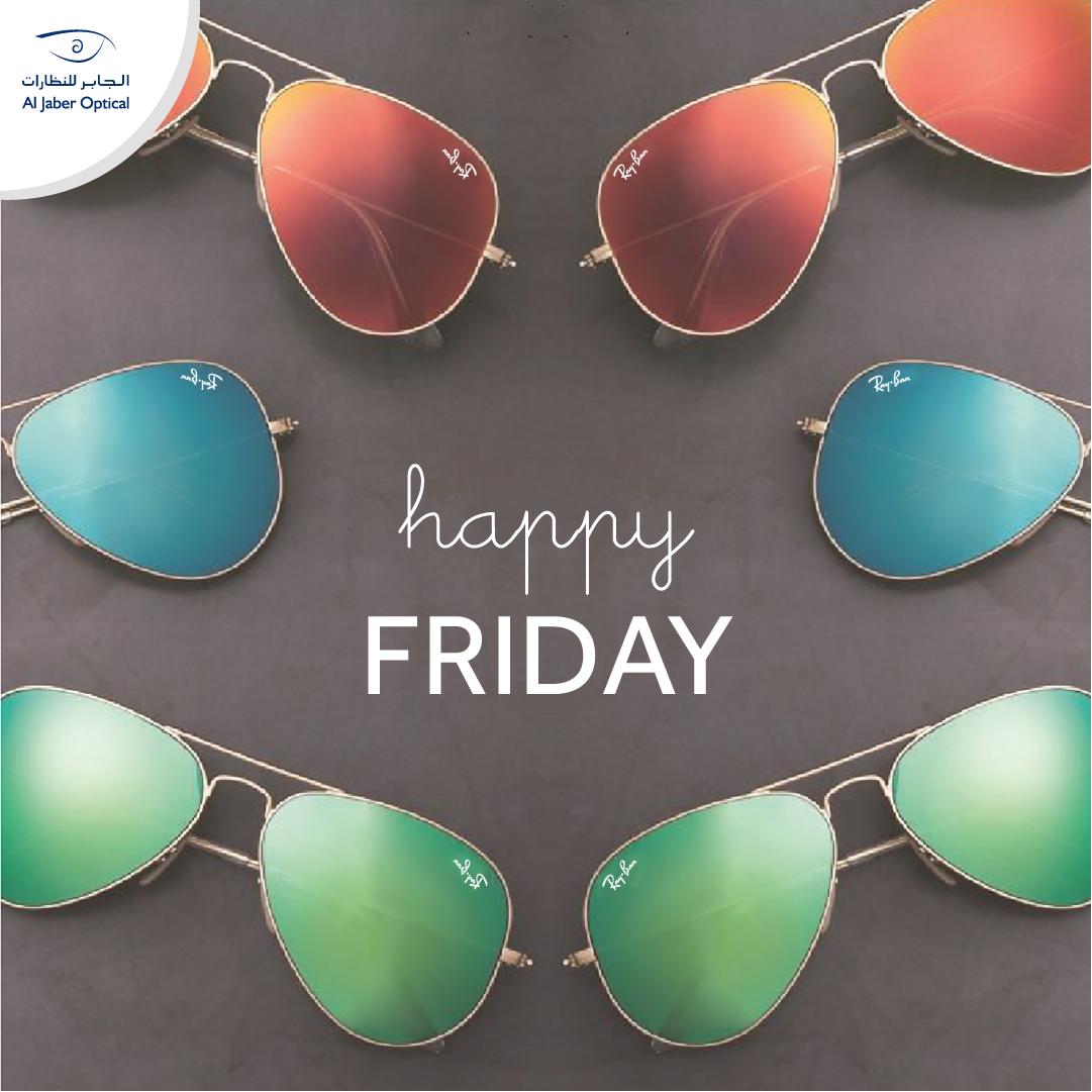 af8f2ced39 Happy Friday! Who s wearing Ray-Ban sunglasses today  جمعة مباركة ...