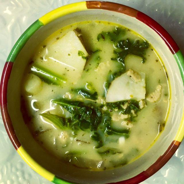 Easy One Pot Vegan Zuppa Toscana (Olive Garden Copy Cat) | Recipe ...