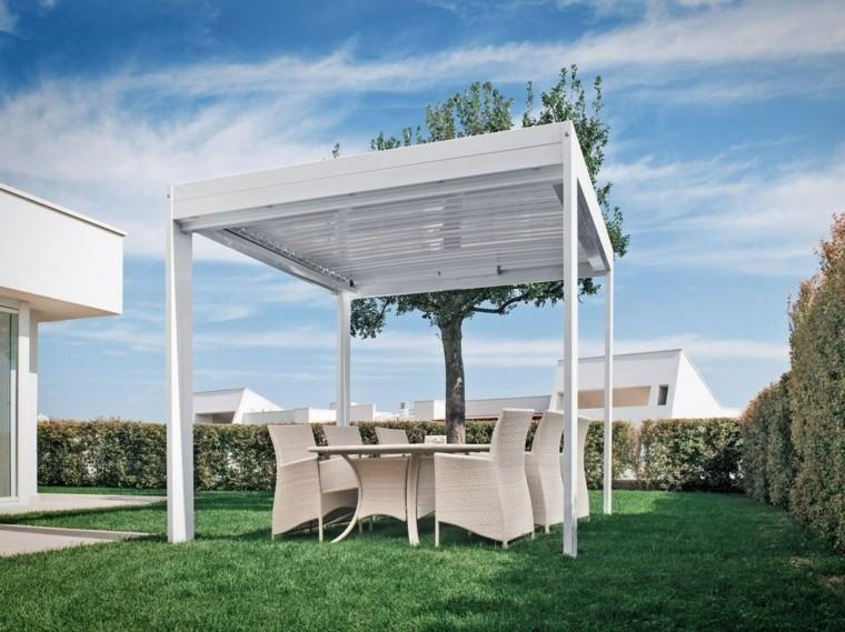 Interessante Ideen von Pergolen im Garten oder auf der Terrasse