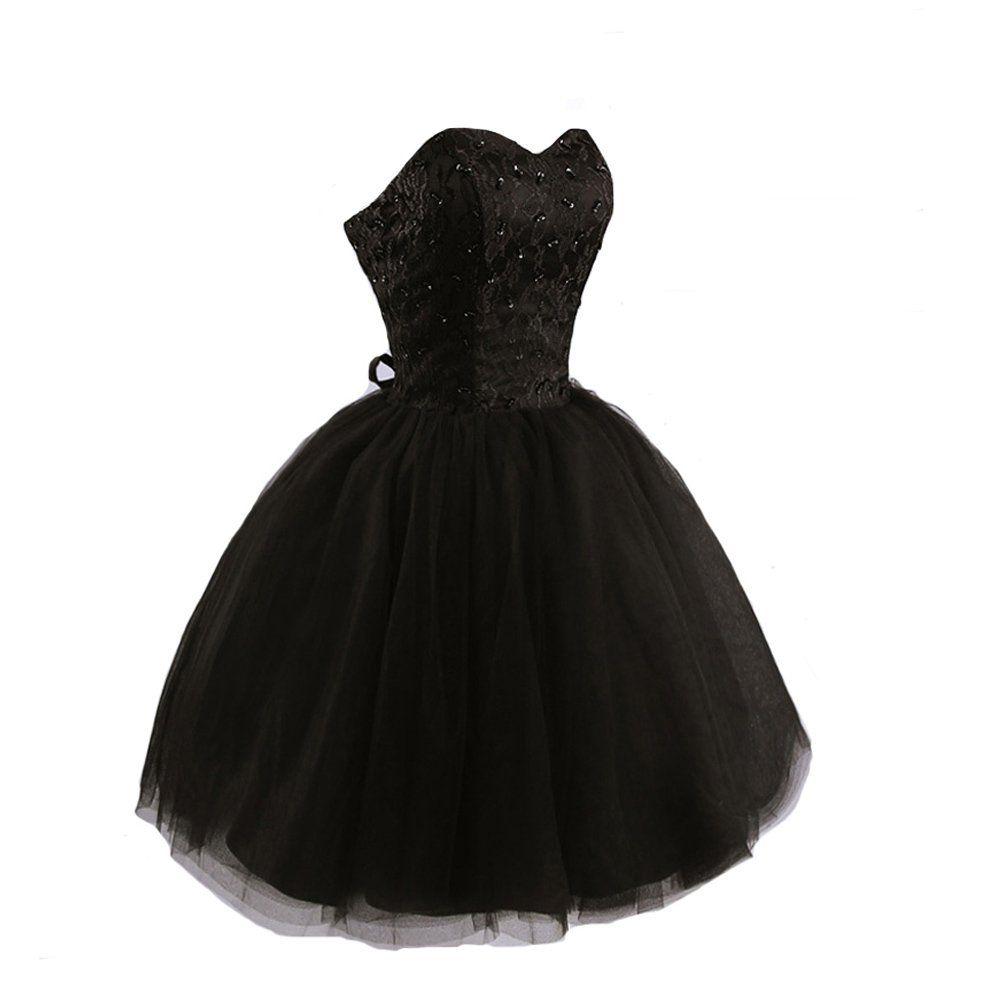 Kivary Women's Short Little Black Homecoming Prom Dresses | Amazon.com