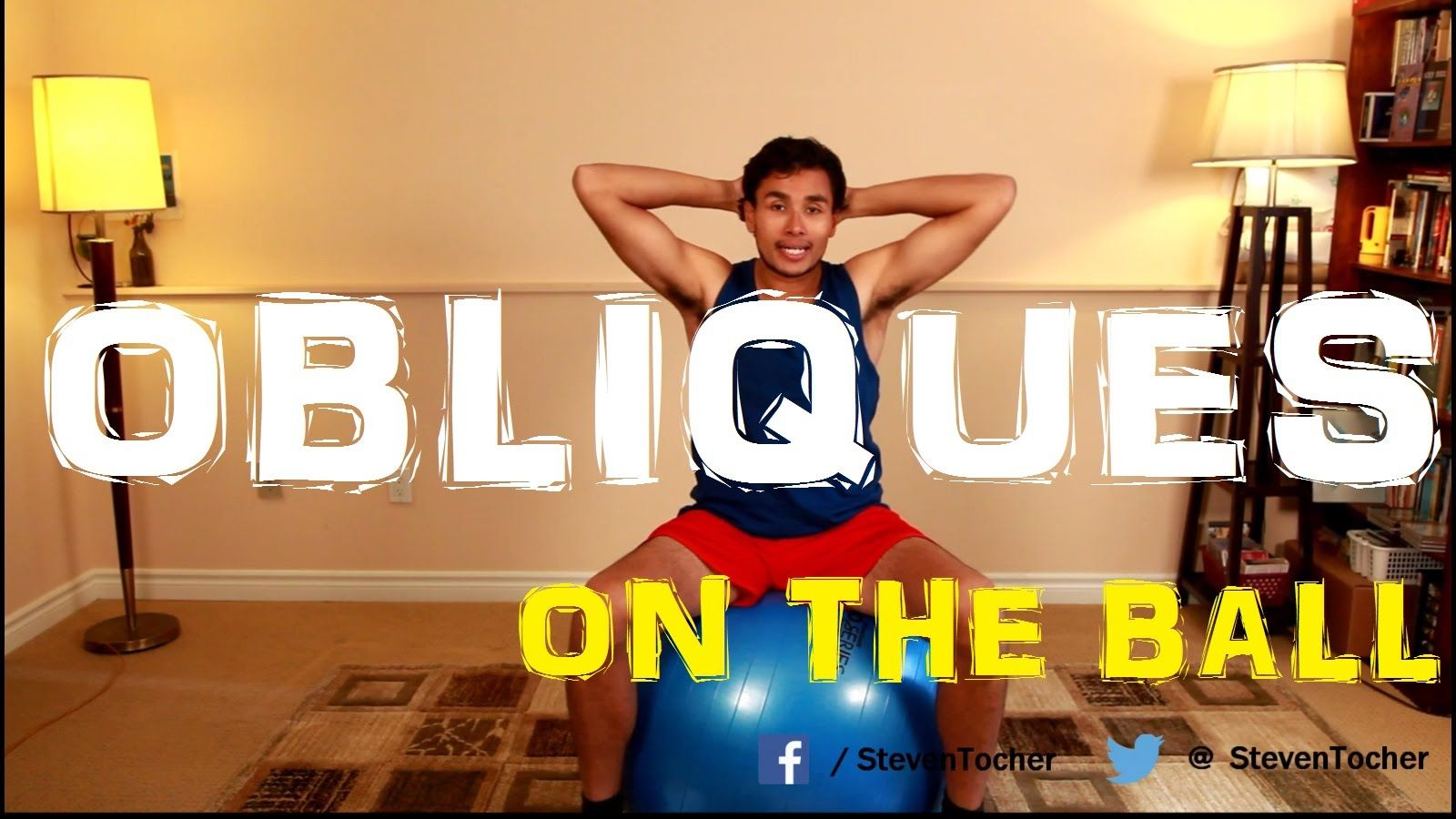 Oblique Exercises on the Ball (Year 2 Episode 14)