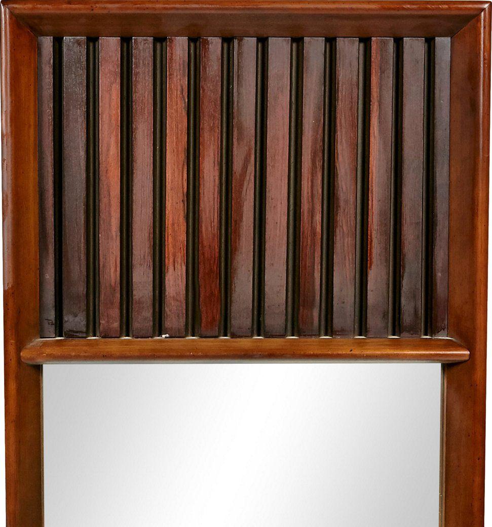 Lane furniture walnut rosewood mirrors 2 b modern brands one kings