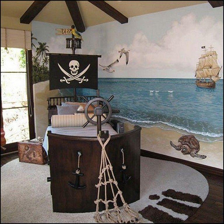 15 Cute Kids Pirate Room Decor Kidsroom Roomdecor Roomdecorideas Pirate Kids Room Pirate Room Decor Pirate Room