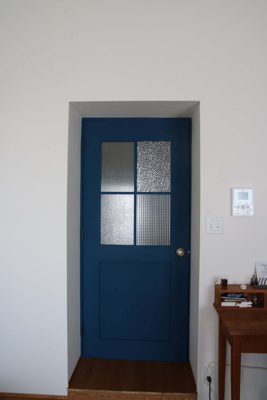 Squareスタッフ T邸のリノベーション 室内ドア 玄関
