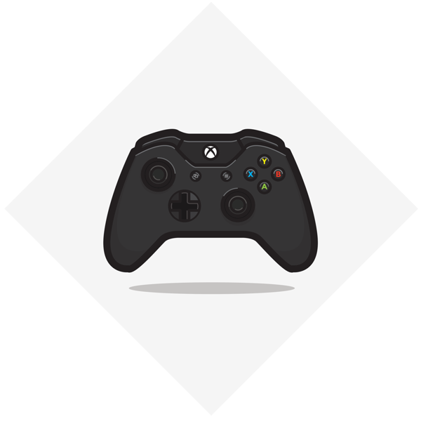 Video Game Controller Icon Set On Behance Video Game Controller Icon Set Video Game
