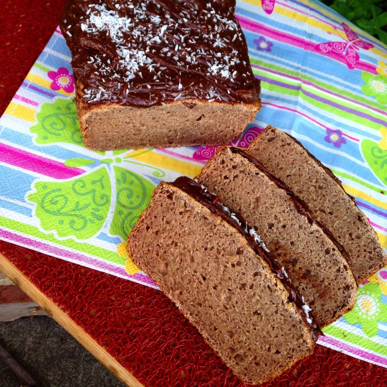 Banana bread made with banana flour😋 (With images