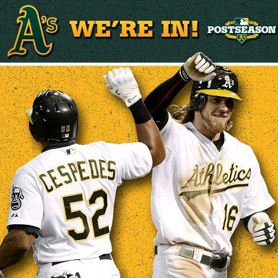 Congratulations Oakland A S For Making It To The Playoffs Oakland Athletics Baseball Oakland Athletics Oaktown