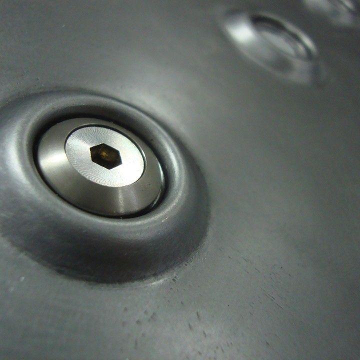 Crater Maker 3 8 4140 Hardened Dimple Dies Sheet Metal Fabrication Sheet Metal Tools Metal Tools