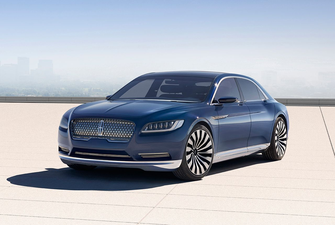 2016 lincoln continental concept | Lincoln Continental Concept: New ...