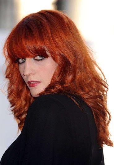 Enlever couleur roux cheveux