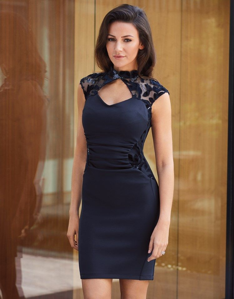 Lipsy Love Michelle Keegan Bodycon Midi Dress Will Shake Up The Hottest Parties In Bodycon Fit That Clings To Your Ev Lipsy Dresses Dresses Midi Dress Bodycon