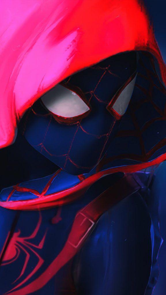 Spider Man Into The Spider Verse En 2020 Spiderman Wallpaper 4k Arte De Marvel Hombre Arana Comic
