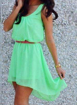 High-low dresses summer dresses