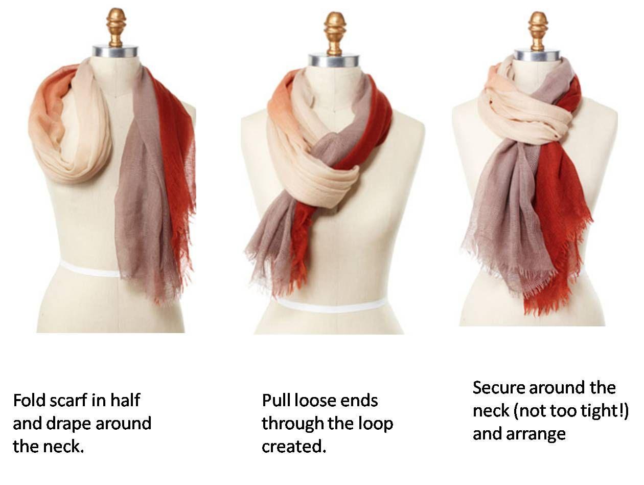 ways to wear a scarf around your neck take it form oprah