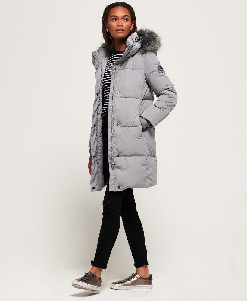 Superdry Cocoon Parka Jacket | Coats jackets women, Jackets