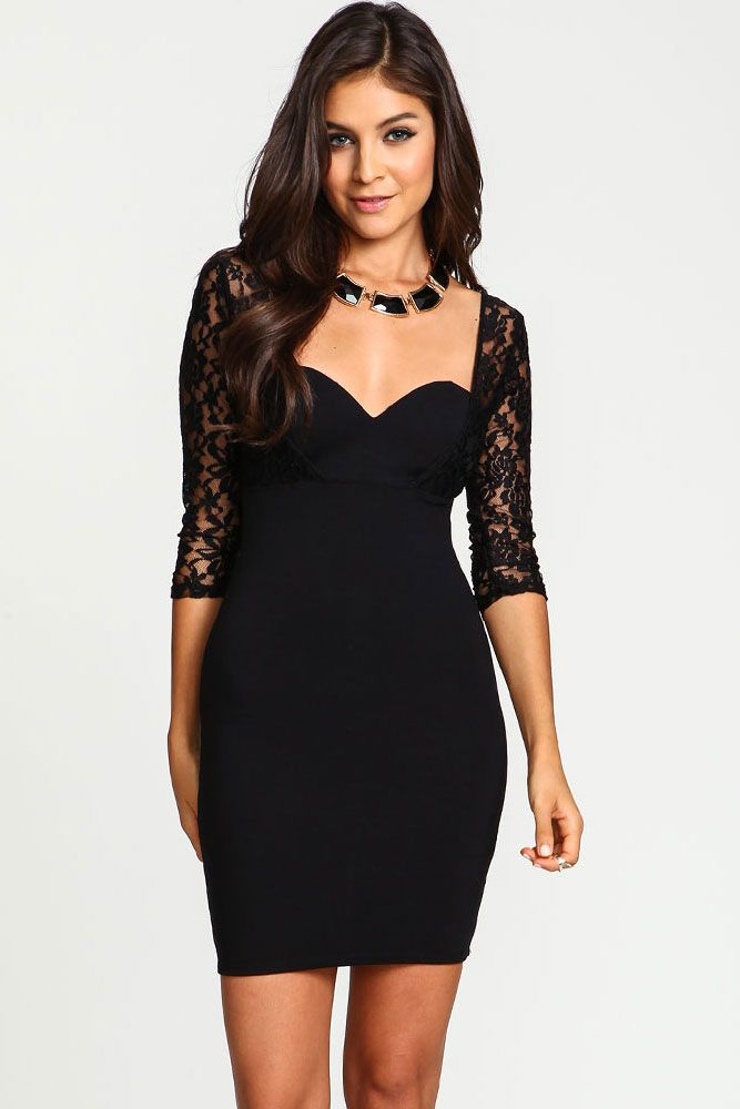 1febbba5071 Details about Sexy Women Wetlook Lace Bodycon Evening Party Cocktail ...