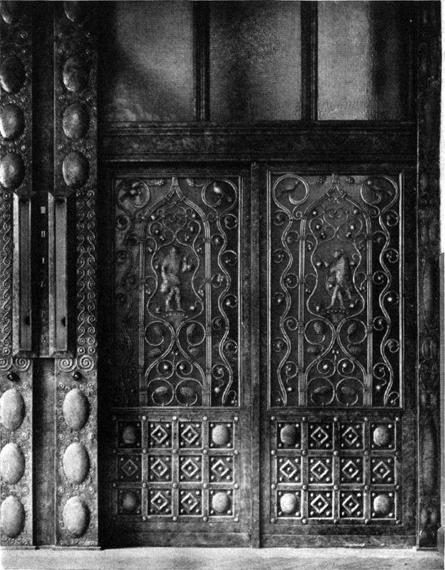 Kadewe Fahrstuhl Tur Erdgeschoss 1908 Kaufhaus Deutsches Kaiserreich Kaiserreich