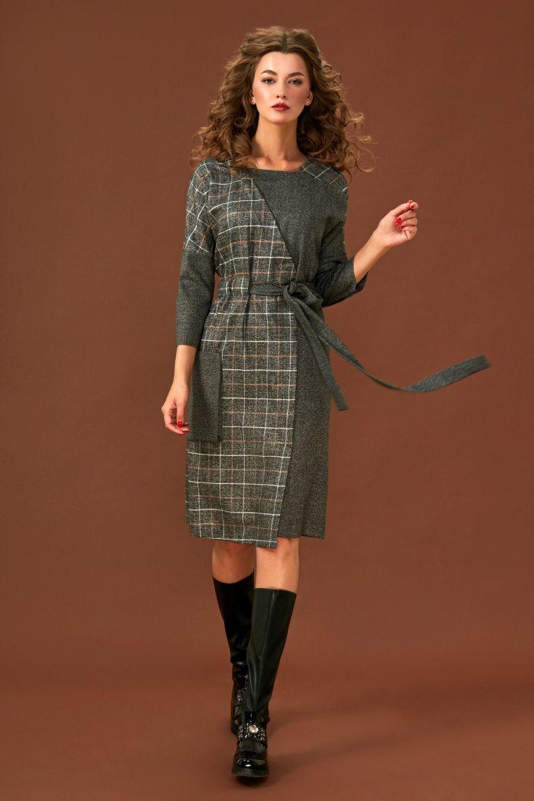 Модели платьев из клетчатой ткани для повседневной работы юра карпенко