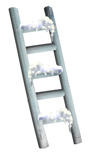 WINTER WOODEN LADDER * | Christmas mix, Christmas penguin ...