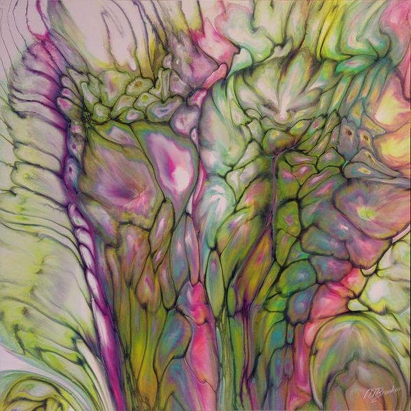 Acrylic Art, Art, Fluid Acrylics