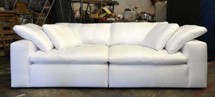 Restoration Hardware Cloud Sofa Replica Made In Usa E Furniture