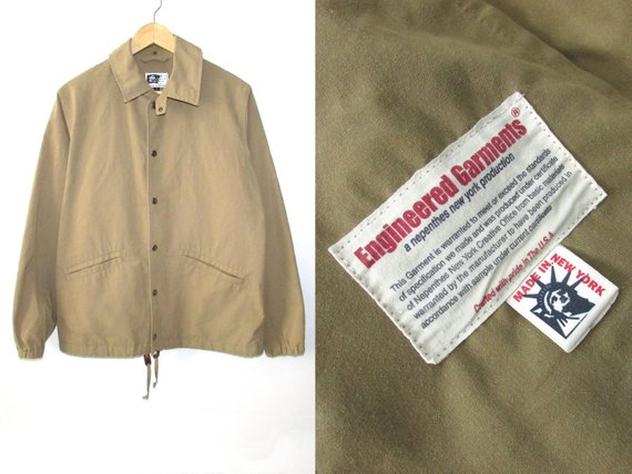 Size M | Engineered Garments Bomber Coach Jacket Nepenthes