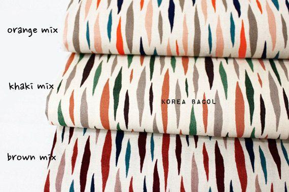 Scandinavian Fabric  Nordic Fabric  43 x 55  20 by KoreaBacol
